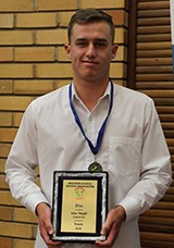 Jake Magill received the Principal's Excellence Award for Year 11, the Senior Sportsman Award