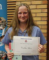 Cordelia Moon received the CWA Food Technology Award