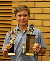 Harrison received the Junior Sportsman Award