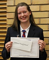 Madison Bland received the Littlewood Family Award for outstanding academic achievement in Year 11 and the Principals Excellence Award for Year 11.